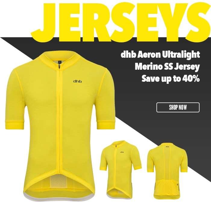 dhb Aeron Ultralight Merino SS Jersey