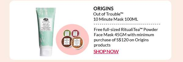 Shop Now: Origins Out of Trouble 10 Minute Mask 100ML