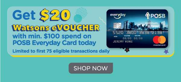 8.8 Shopathon POSB $20 Watsons eVoucher