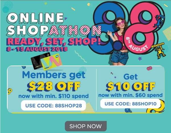 8.8 Shopathon details