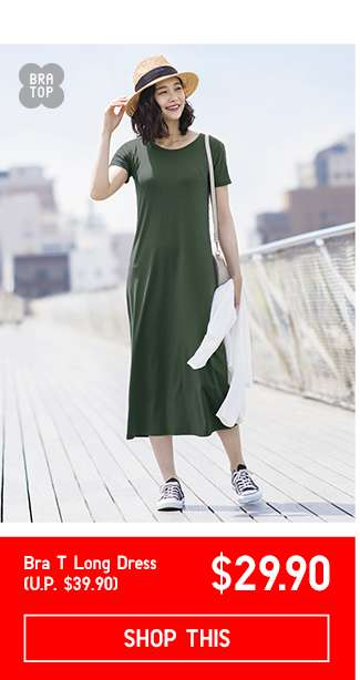 Women's Bra T Long Dress at $29.90