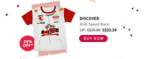 Shop Now: Discover Kids Speed Race