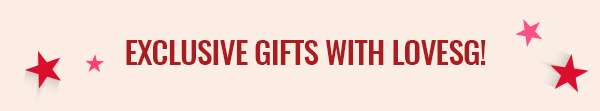 Exclusive Gifts With LoveSG