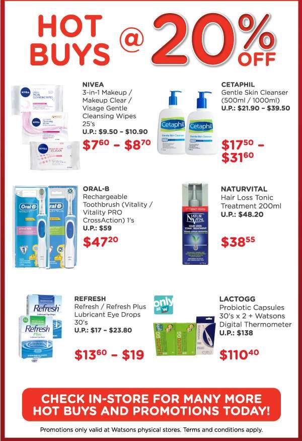 In-Store Specials! Storewide 20% Sale Highlights