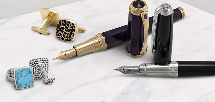 Quality Cuff Links & Writing Instruments