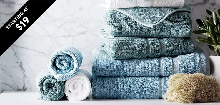 Spa-Like Towels & Robes