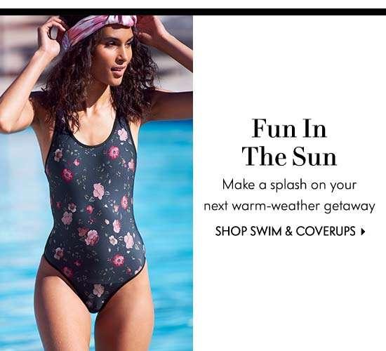 Shop Swim & Coverups
