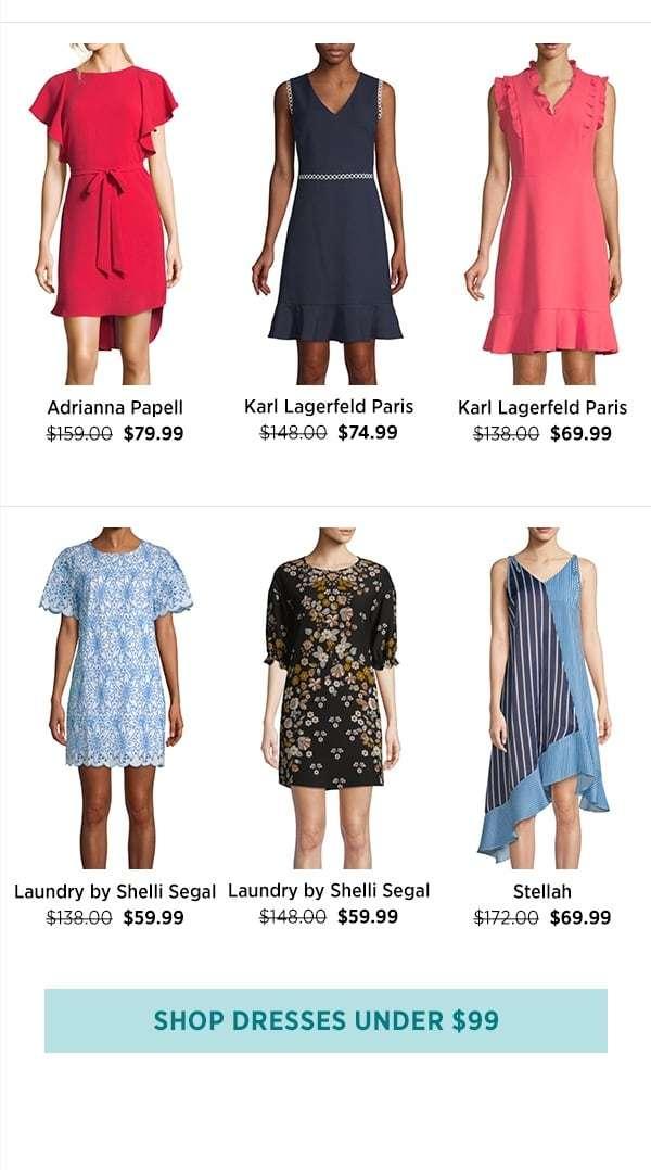Shop Dresses Under $99