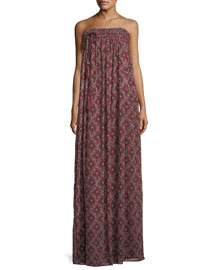 cinq a sept Sterling Floral-Print Maxi Dress