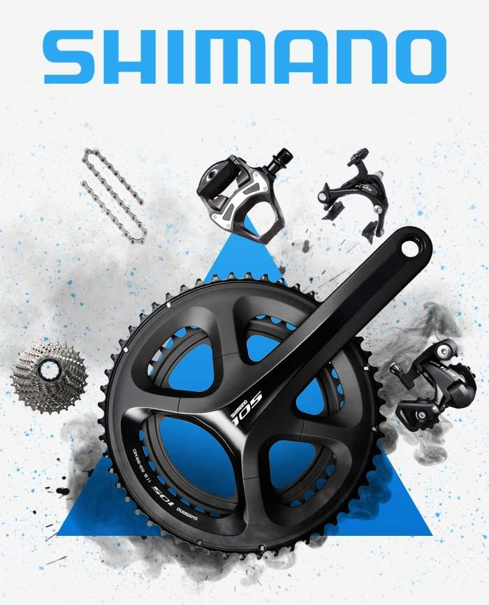 Save up to 45% on Shimano 105 5800 Components