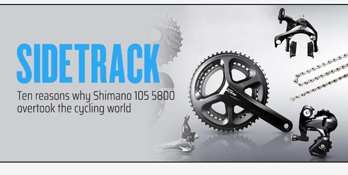 Ten reasons why Shimano 105 5800 overtook the cycling world