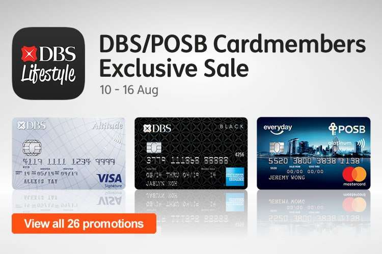 DBS/POSB Cardmembers Exclusive Sale