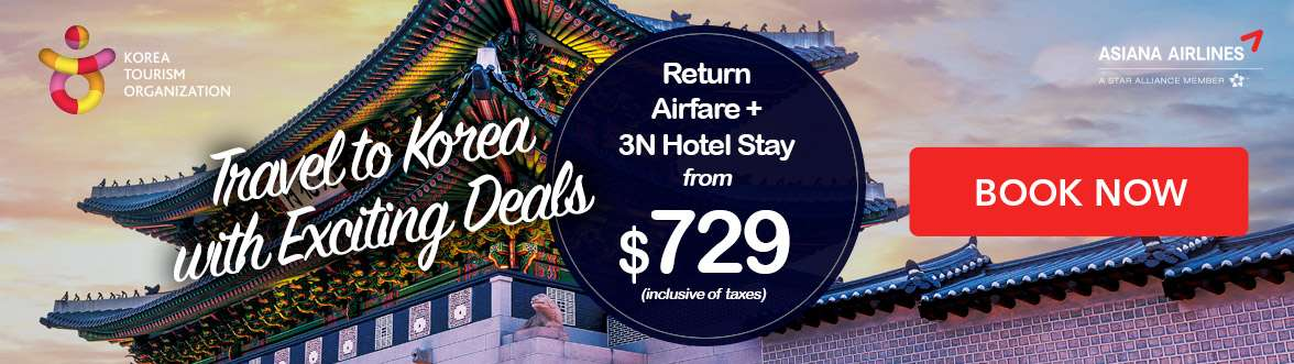4D3N package with Asiana Airlines from $729