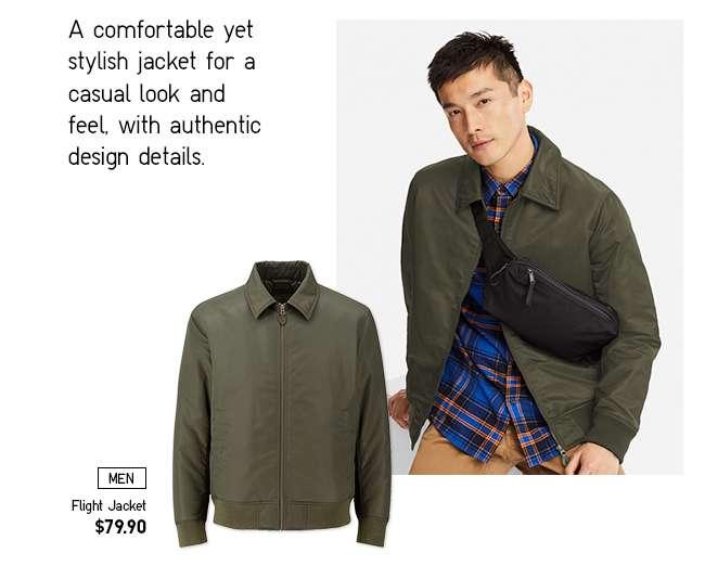 Men's Flight Jacket at $79.90