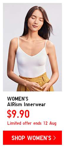 Shop Women's AIRism Limited Offers