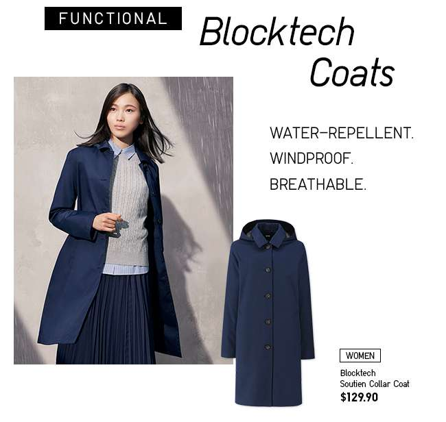 Women's Blocktech Soutien Collar Coat at $129.90