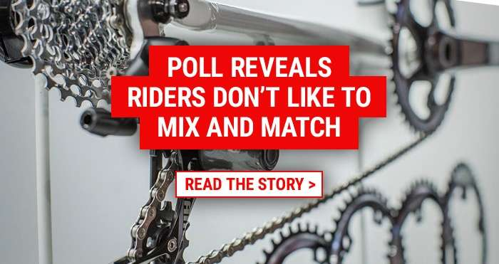 Poll reveals riders don't like to mix and match