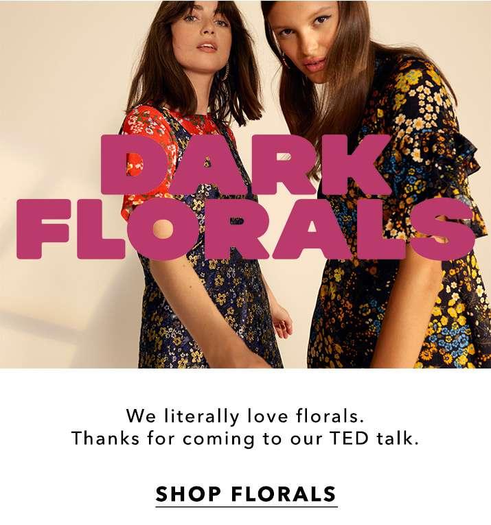 Dark Florals - Shop Florals