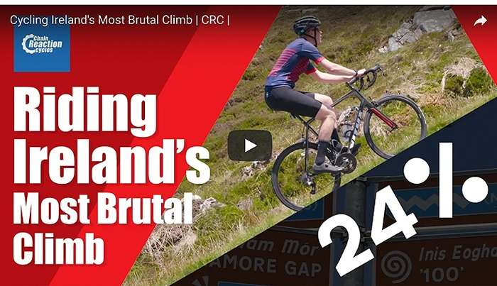 Video: We ride Ireland's most brutal climb!