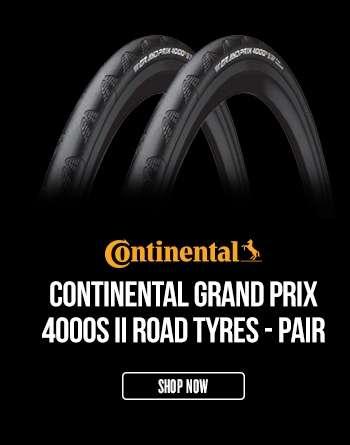 Continental Grand Prix 4000S II Road Tyres - PAIR