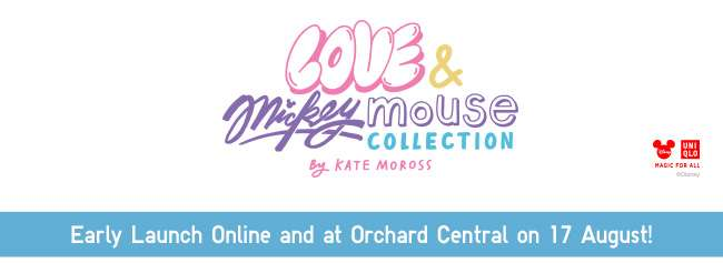 Love & Mickey Mouse Collection by Kate Moross UT Collection