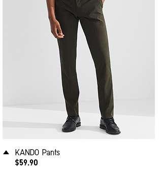 Shop Men's KANDO Pants at $59.90