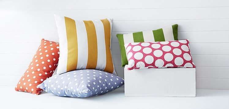 Quote-Covered Pillows