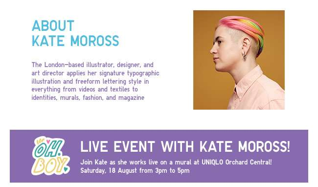 About Kate Moross and Event