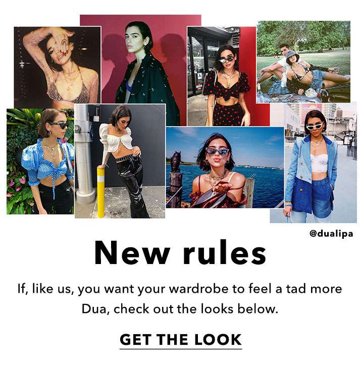 New Rules - Get The Look