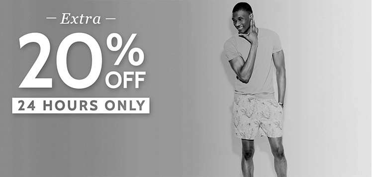 Men's Summer Sale: Prices as Marked