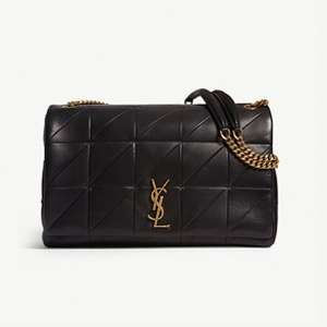 Jamie giant quilted leather shoulder bag