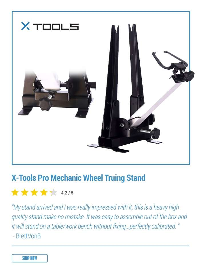 X-Tools Pro Mechanic Wheel Truing Stand