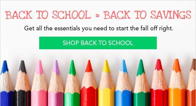 Shop Back to School