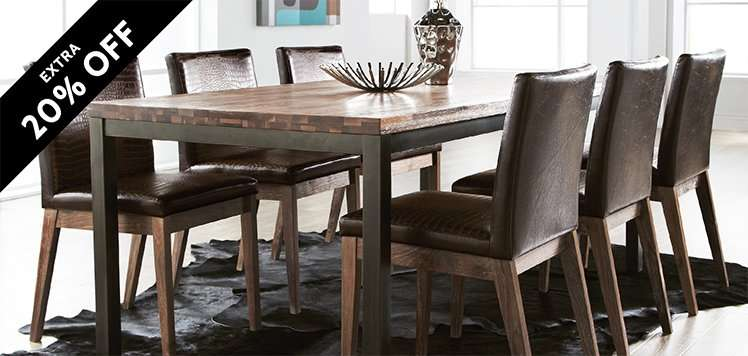 Dining & Accent Seating Event: Prices as Marked