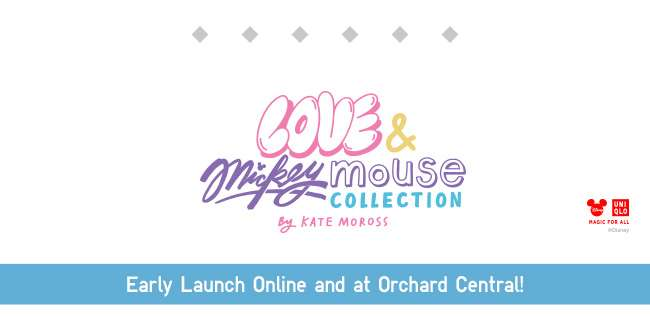 Love & Mickey Mouse Collection by Kate Moross