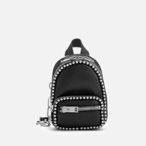 Alexander Wang Women's Attica Soft Mini Cross Body Backpack with Ballchain - Black