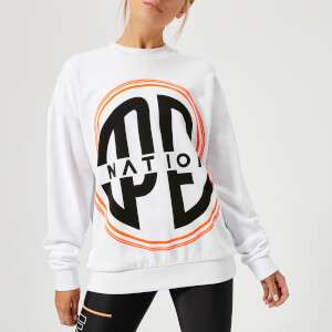 P.E Nation Women's Turbo Sweatshirt - White