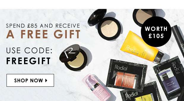 Free Gift With Purchases of £85 or more