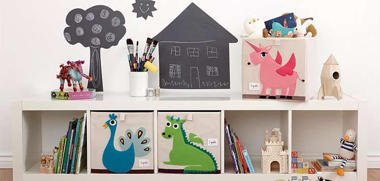 3 Sprouts & More Playroom Storage
