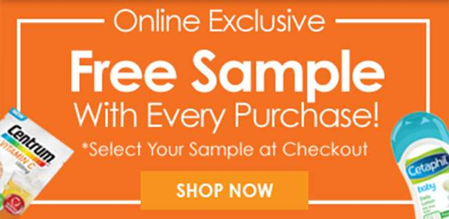 Click here for your Free Sample with every purchase!