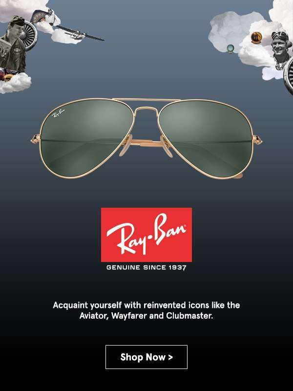 Ray-Ban.