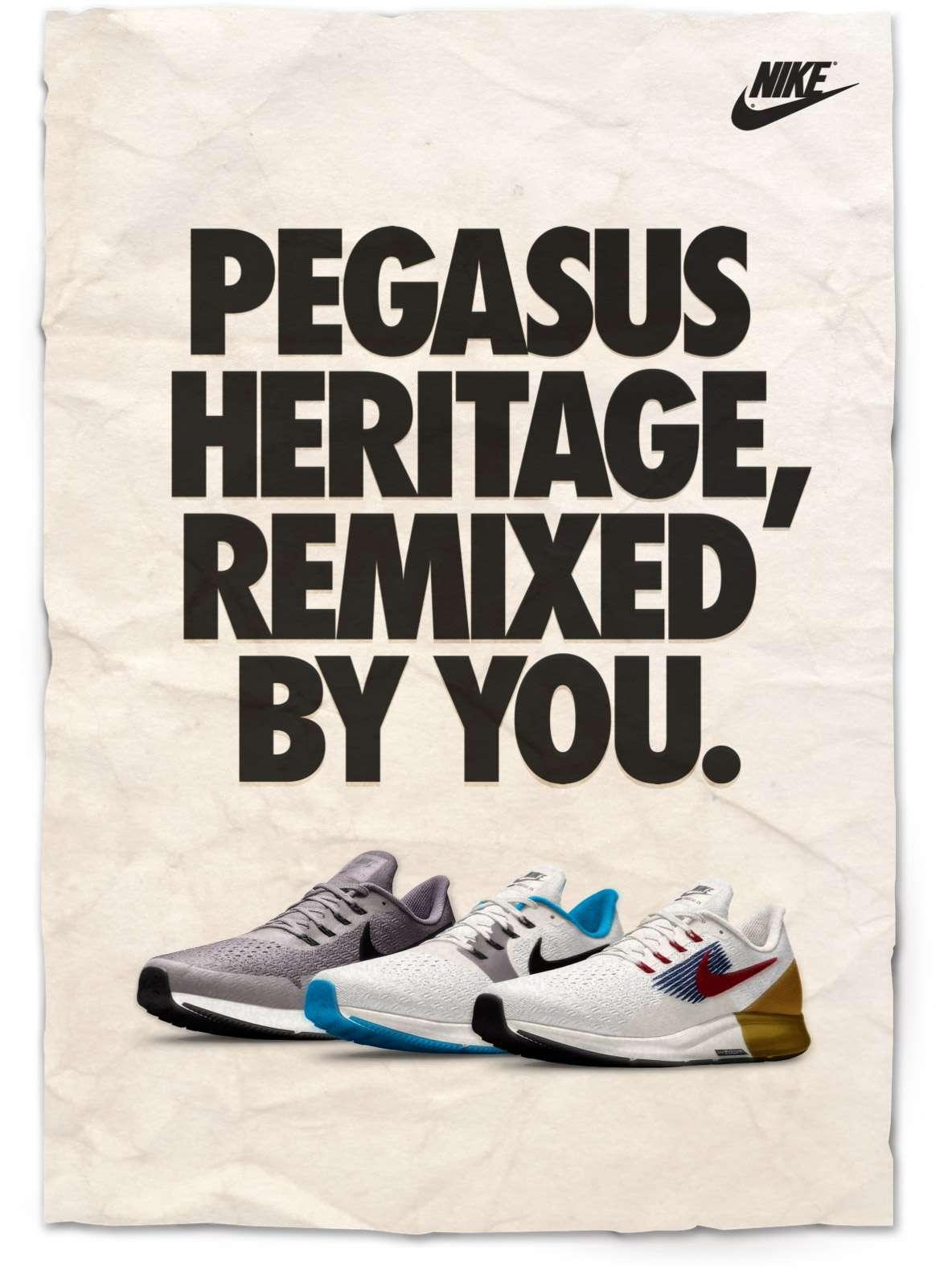 NIKE | PEGASUS HERITAGE, REMIXED BY YOU.