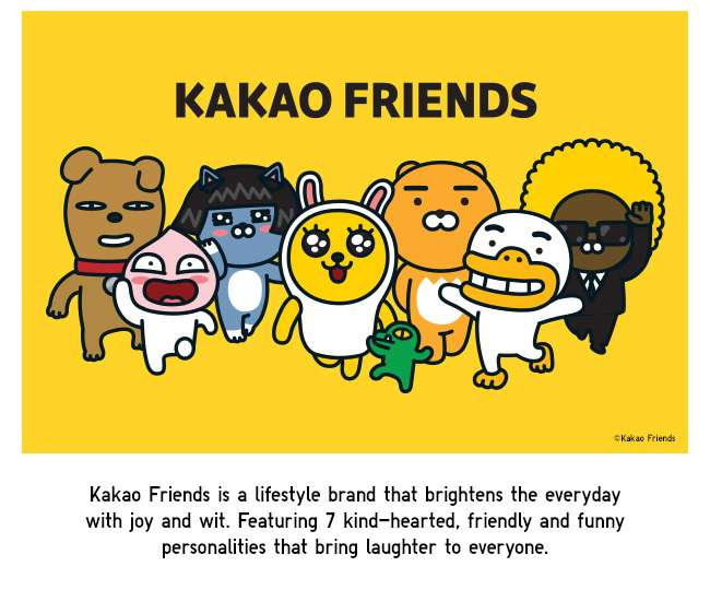 New Launch! Kakao Friends UT Collection now available!