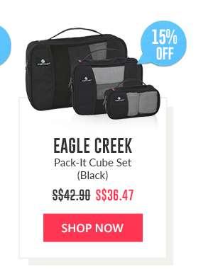 Shop Now: Eagle Creek Pack-It Cube Set (Black)