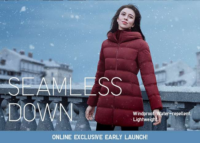 Women's Seamless Down