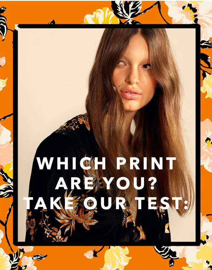 Which Print Are You? Take Our Test: