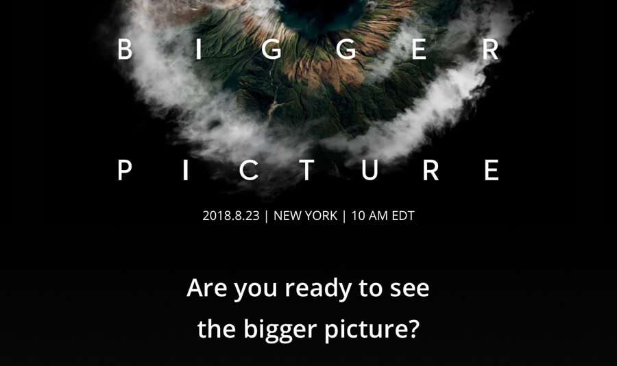 Join DJI and See the Bigger Picture on August 23