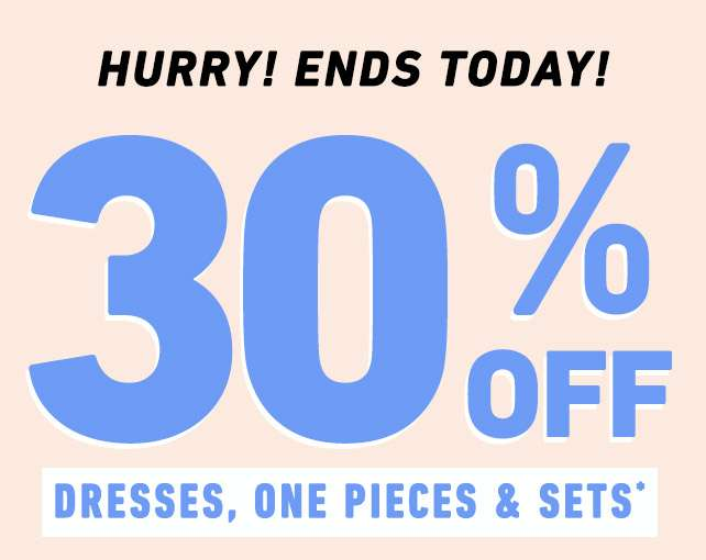 Hurry! Ends Today!