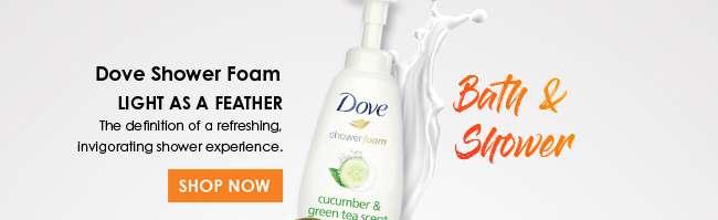 Shop Dove Shower Foam