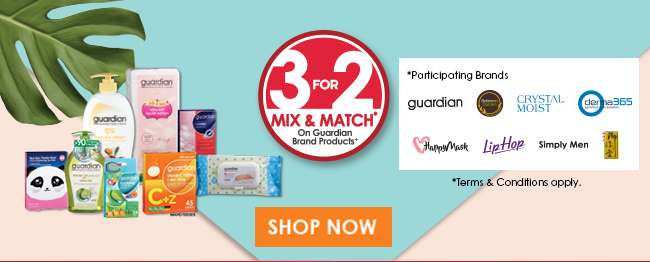 Shop 3 For 2 Mix & Match offers
